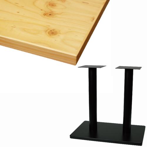 【組立式】TB ラーチ合板テーブル 幅1200×奥行750×高さ710(mm) 天板色:ナチュラル/業務用/新品/送料別【テンポスオリジナル】