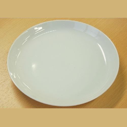 白 丸深皿 9吋/20入/業務用食器/新品/送料800円(税別)
