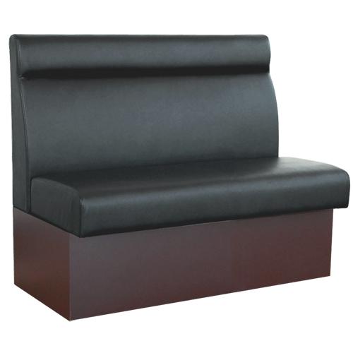 【即納可】ベンチソファ(収納式) W1050 ブラック色 幅1050×奥行580×高さ920(mm) 座面高さ:450(mm)【業務用】【送料無料】