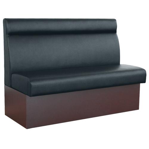 【即納可】ベンチソファ(収納式) W1200 ブラック色 幅1200×奥行580×高さ920(mm) 座面高さ:450(mm)【業務用】【送料無料】