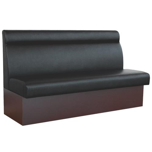 【即納可】ベンチソファ(収納式) W1500 ブラック色 幅1500×奥行580×高さ920(mm) 座面高さ:450(mm)【業務用】【送料無料】