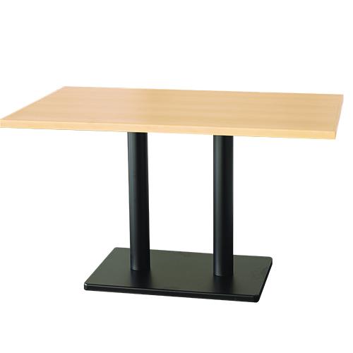 買得 4人用メラミン木縁テーブル(組立式) 幅1200×奥行750×高さ710 天板厚み30(mm)【テンポスオリジナル】【業務用】【即納可】【送料無料】, 天然酵素スキンケア専門 凜として e8c857a6