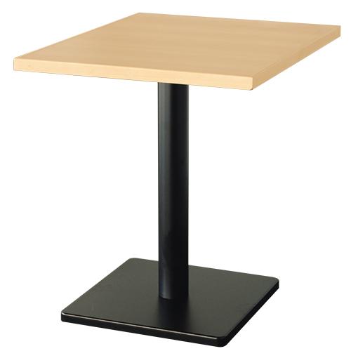 2人用メラミン木縁テーブル(組立式) 幅600×奥行750×高さ710 天板厚み30(mm)【テンポスオリジナル】【業務用】【即納可】【送料無料】:業務用厨房機器・家具・食器INBIS