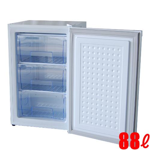 【業務用】冷凍ストッカー 88L 冷凍庫 アップライトタイプ(前扉タイプ)TBUF-88-RH W526×D531×H831【送料無料】