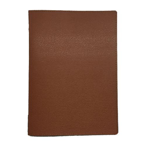 メニューブック 高級合皮 (A4 4ページ仕様) TOM-009 ブラウン (15冊入)【業務用/送料別】