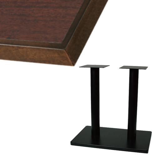 【組立式【組立式】】 TB メラミン化粧板(木ブチ)テーブル 幅1200×奥行750×高さ710(mm) TB ブラウン色/業務用/新品/送料別途見積【テンポスオリジナル】, 『1年保証』:6b9bf5b8 --- officewill.xsrv.jp