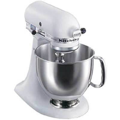 【業務用】キッチンエイドミキサー ヘッド部可動タイプ 4.8リットル 【KSM150WH】【KitchenAid】【送料無料】