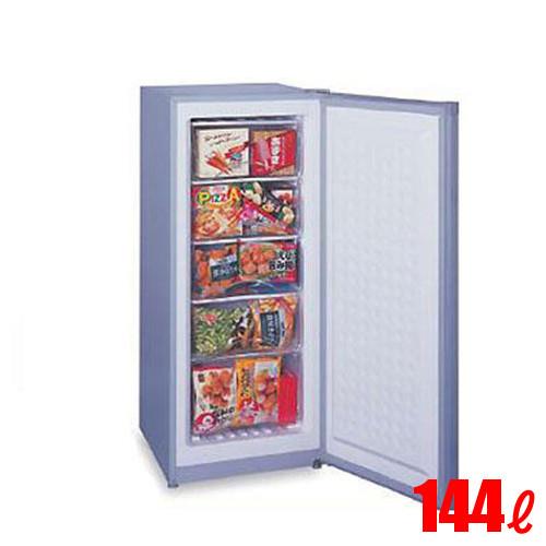 【業務用】三ツ星貿易 フリーザー(アップライト型 冷凍ストッカー 冷凍庫) 144L MA-6144 幅519×奥行600×高さ1225 【送料無料】