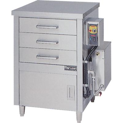 蒸器 【マルゼン】 電気式 ドロワータイプ 1槽式 引出し3個 MUDE-13 【送料無料】【業務用】