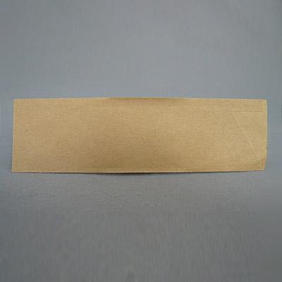 【業務用】箸袋 ナチュラル無地 1ケース販売(500枚/パック×20セット)【送料無料】