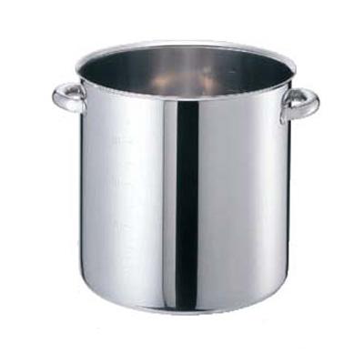 寸銅鍋 モリブデンジII 蓋無 (目盛付) 45cm 【業務用】【送料無料】