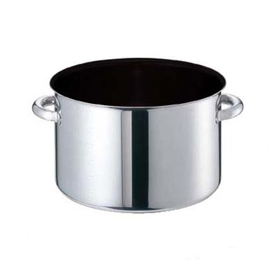 半寸銅鍋 モリブデンジII プラス 蓋無 (目盛付) 21cm 【業務用】【送料無料】