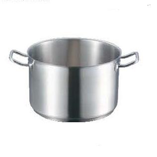 半寸銅鍋 IH 18-8 蓋無 プロシェフ 40cm 【業務用】【送料無料】