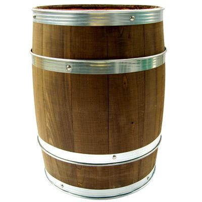 バーレル(樽) オイルステンA 幅330×奥行330×高さ425 【業務用】【送料別】【プロ用】
