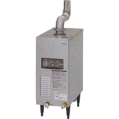 ガスブースター 【マルゼン】 強制排気式ガスブースター 屋外排気用 幅260×奥行475×高さ665(868) [WB-17P] 【業務用】【送料無料】