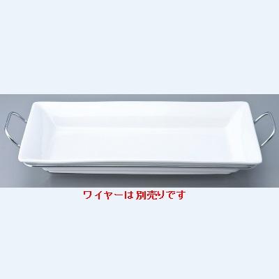 ベーキング皿 【43cmシャローベーカー】 / 43×24×H6cm /【業務用】【グループR】