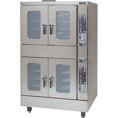 ガスコンベクションオーブン 【マルゼン】 ツインフロー 芯温センサー付 SGCO-14WH 【送料無料】【業務用】