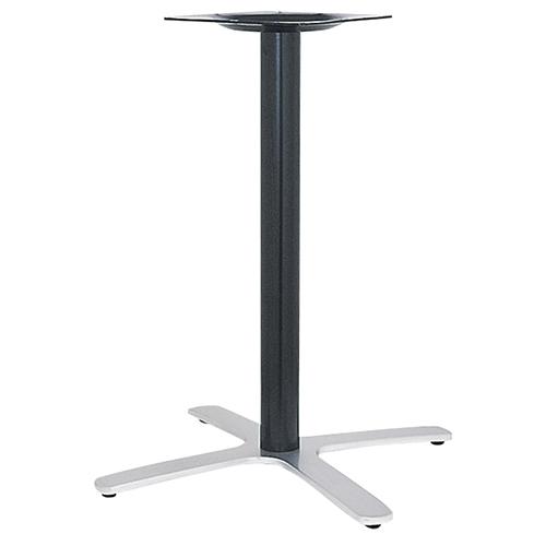 ハヤシ アルミ鋳物テーブル脚 ベースサイズ:A700×B520×C520×高さ700mmまで指定可 品番:BT-CF-700 塗装カラー:14AM ポール:76φ/送料別