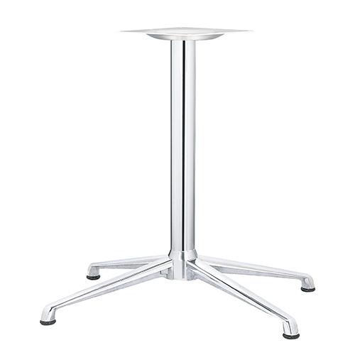 ハヤシ アルミダイキャストテーブル脚 ベースサイズ:A745×B645×C395×高さ700mmまで指定可 品番:DC-XN-750 塗装カラー:11 ポール:76φ/送料別