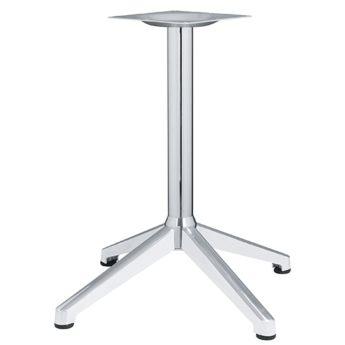 ハヤシ アルミ鋳物テーブル脚 ベースサイズ:A700×B505×C505×高さ700mmまで指定可 品番:DC-CK-690 塗装カラー:11 ポール:60φ/送料別