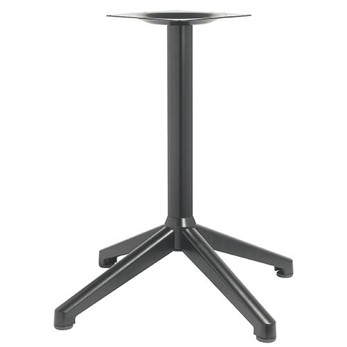 ハヤシ アルミ鋳物テーブル脚 ベースサイズ:A890×B640×C640×高さ700mmまで指定可 品番:DC-CK-880 塗装カラー:44 ポール:76φ/送料別