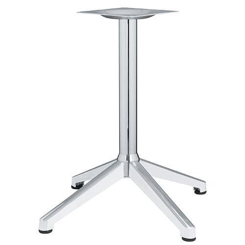 ハヤシ アルミ鋳物テーブル脚 ベースサイズ:A700×B505×C505×高さ700mmまで指定可 品番:DC-CK-690 塗装カラー:11 ポール:76φ/送料別
