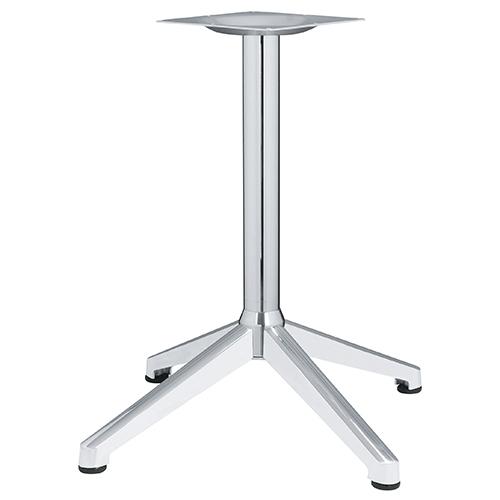 ハヤシ アルミ鋳物テーブル脚 ベースサイズ:A890×B640×C640×高さ700mmまで指定可 品番:DC-CK-880 塗装カラー:18 ポール:60φ/送料別