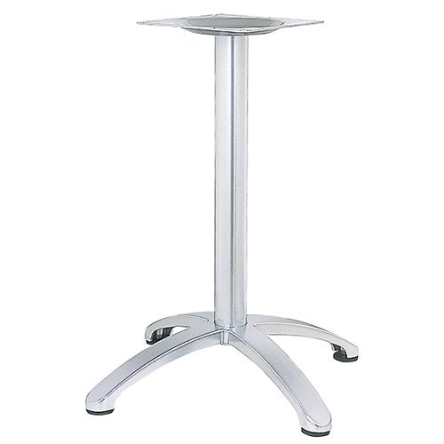 ハヤシ アルミ鋳物テーブル脚 ベースサイズ:A750×B550×C550×高さ700mmまで指定可 品番:BC-CN-750 塗装カラー:88 ポール:76φ/送料別