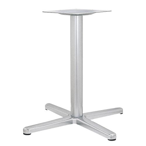 ハヤシ アルミ鋳物テーブル脚 ベースサイズ:A752×B550×C550×高さ700mmまで指定可 品番:BT-C-750 塗装カラー:88 ポール:76φ/送料別