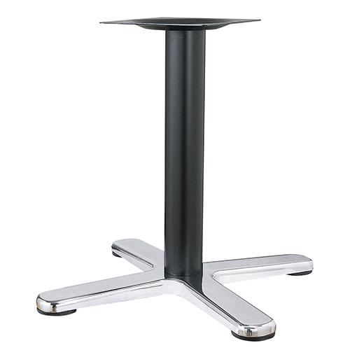 ハヤシ アルミダイキャストテーブル脚 ベースサイズ:A800×B610×C610×高さ700mmまで指定可 品番:BT-CL-800 塗装カラー:14 ポール:101φ/送料別