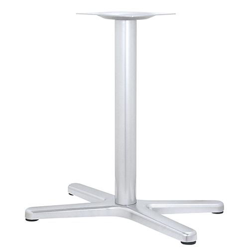 ハヤシ アルミ鋳物テーブル脚 ベースサイズ:A902×B750×C544×高さ700mmまで指定可 品番:BT-X-900 塗装カラー:88 ポール:76φ/送料別