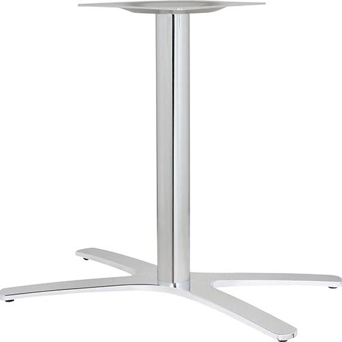 ハヤシ アルミ鋳物テーブル脚 ベースサイズ:A800×B702×C440×高さ700mmまで指定可 品番:BT-XF-800 塗装カラー:11 ポール:76φ/送料別