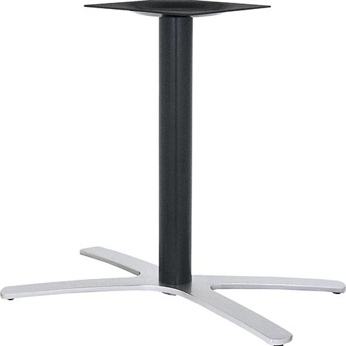 ハヤシ アルミ鋳物テーブル脚 ベースサイズ:A800×B702×C440×高さ700mmまで指定可 品番:BT-XF-800 塗装カラー:14AM ポール:76φ/送料別