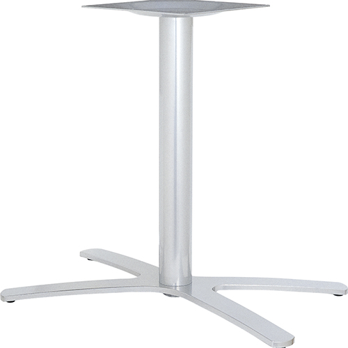 ハヤシ アルミ鋳物テーブル脚 ベースサイズ:A800×B702×C440×高さ700mmまで指定可 品番:BT-XF-800 塗装カラー:88 ポール:76φ/送料別