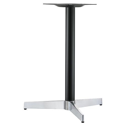 ハヤシ アルミダイキャストテーブル脚 ベースサイズ:A520×B455×高さ700mmまで指定可 品番:CK-T-300 塗装カラー:14AM ポール:60φ/送料別