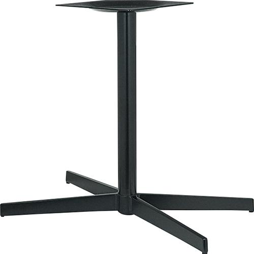 ハヤシ アルミダイキャストテーブル脚 ベースサイズ:A802×B695×C410×高さ700mmまで指定可 品番:CK-X-800 塗装カラー:44 ポール:60φ/送料別