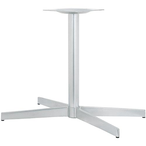 ハヤシ アルミダイキャストテーブル脚 ベースサイズ:A802×B695×C410×高さ700mmまで指定可 品番:CK-X-800 塗装カラー:88 ポール:60φ/送料別