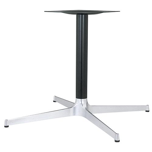 ハヤシ アルミ鋳物テーブル脚 ベースサイズ:A1035×B740×C740×高さ700mmまで指定可 品番:CL-1000 塗装カラー:14AM ポール:76φ/送料別