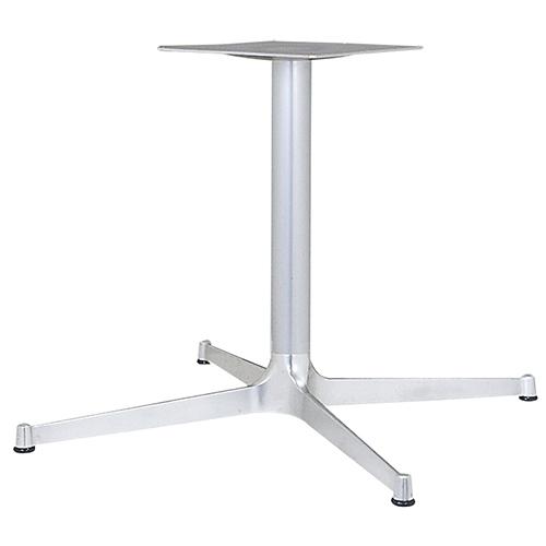 ハヤシ アルミ鋳物テーブル脚 ベースサイズ:A1035×B740×C740×高さ700mmまで指定可 品番:CL-1000 塗装カラー:18AM ポール:76φ/送料別