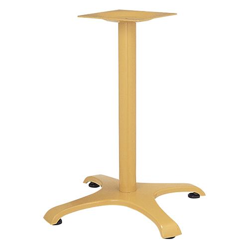 ハヤシ アルミ鋳物テーブル脚 ベースサイズ:A750×B570×C570×高さ700mmまで指定可 品番:CL-F-750 塗装カラー:NB ポール:76φ/送料別