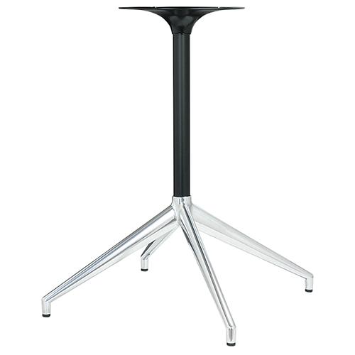 ハヤシ アルミダイキャストテーブル脚 ベースサイズ:A650×B470×C470×高さ700mmまで指定可 品番:DH-C-650 塗装カラー:14 ポール:38φ/送料別