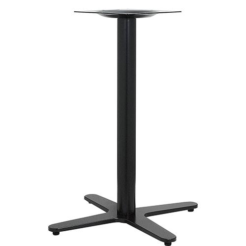 ハヤシ アルミ鋳物テーブル脚 ベースサイズ:A750×B545×C545×高さ700mmまで指定可 品番:GB-C-750 塗装カラー:44 ポール:76φ/送料別