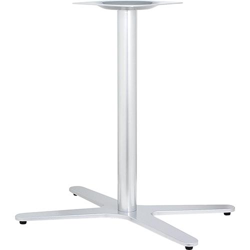 ハヤシ アルミ鋳物テーブル脚 ベースサイズ:A800×B665×C480×高さ700mmまで指定可 品番:GB-X-800 塗装カラー:11C ポール:76φ/送料別