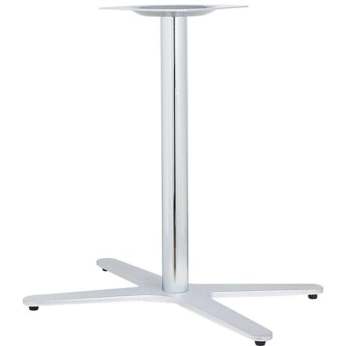 ハヤシ アルミ鋳物テーブル脚 ベースサイズ:A800×B665×C480×高さ700mmまで指定可 品番:GB-X-800 塗装カラー:88 ポール:76φ/送料別