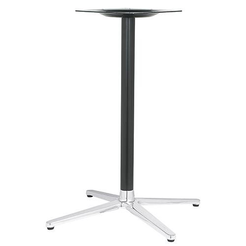 ハヤシ アルミ鋳物テーブル脚 ベースサイズ:A700×B505×C505×高さ700mmまで指定可 品番:MC-CN-700 塗装カラー:14 ポール:50φ/送料別
