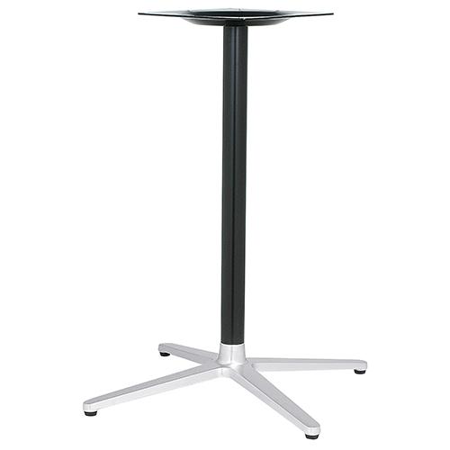 ハヤシ アルミ鋳物テーブル脚 ベースサイズ:A700×B505×C505×高さ700mmまで指定可 品番:MC-CN-700 塗装カラー:14AM ポール:50φ/送料別
