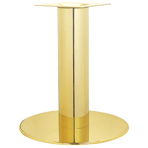ハヤシ スチールベーステーブル脚 ベースサイズ:A600φ×H20×ポール高さ700mmまで指定可 品番:RSQ-N-L 塗装カラー:22 ポール:230φ/送料別