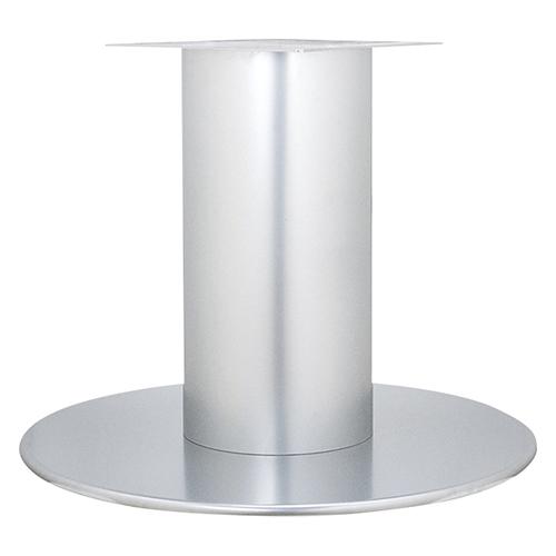 ハヤシ スチールベーステーブル脚 ベースサイズ:A750φ×高さ700mmまで指定可 品番:RSQ-L 塗装カラー:88 ポール:340φ/送料別
