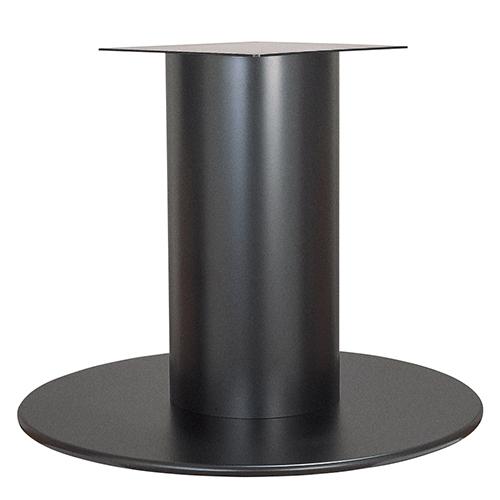 ハヤシ スチールベーステーブル脚 ベースサイズ:A750φ×高さ700mmまで指定可 品番:RSQ-L 塗装カラー:44 ポール:340φ/送料別