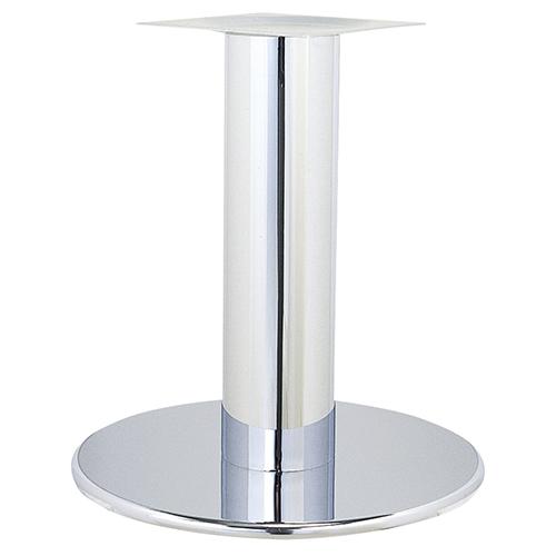 ハヤシ スチールベーステーブル脚 ベースサイズ:A600φ×高さ700mmまで指定可 品番:RSQ-L 塗装カラー:11 ポール:290φ/送料別